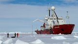The Royal Research Ship (RRS) James Clark Ross  Credit: British Antarctic Survey